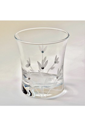 Başak 420014 Azur Süsen Taşlı Meşrubat Bardağı
