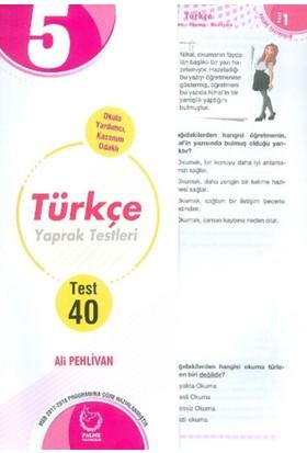 Palme 5.Sınıf Türkçe Yaprak Testleri - Ali Pehlivan