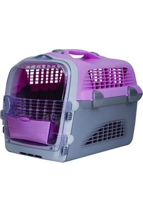 Catit Cabrio Pet Taşıma Kabı Pembe/Gri