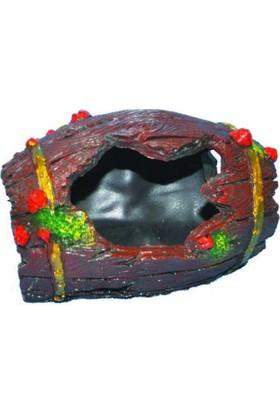 Ti-Sert Küçük Fıçı Akvaryum Dekoru (D-230)