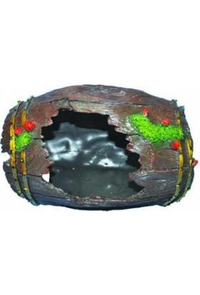 Ti-Sert Büyük Fıçı Akvaryum Dekoru (D-231)