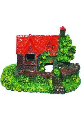 Tisert Küçük Ev Akvaryum Dekoru (D-364)