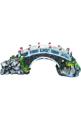 Ti-Sert Orta Boy Köprü Akvaryum Dekoru (D-311)