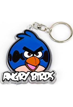 Hunga Angry Birds Anahtarlık Mavi