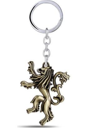 Hunga Game Of Thrones Lannıster Anahtarlık Altın Renk