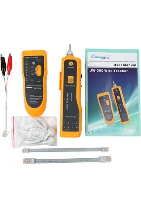 Kablo Test Cihazı Cable Tracker (Jw-360 Cat5 Cat6 Rj45 Utp Stp)