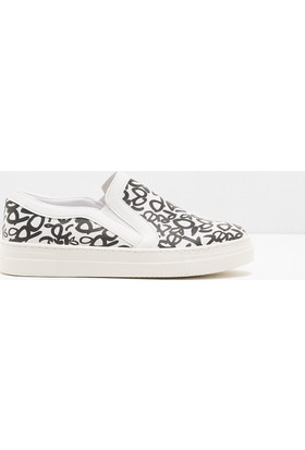 Koton Kadın Bağcıksız Ayakkabı Beyaz