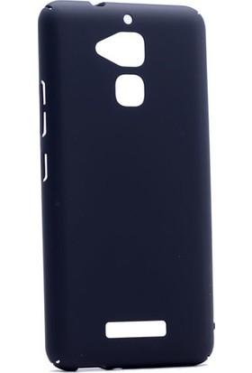 Kny Asus Zenfone 3 Max Zc520Tl Kılıf İnce Sert Arka Kapak + - Siyah
