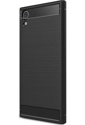 Kny Sony Xperia Xa1 Ultra Kılıf Ultra Korumalı Room Silikon + - Siyah