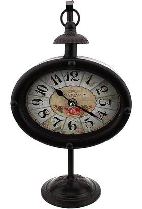Hunga Nostaljik Standlı Eskitme Saat