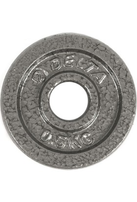 Delta Deluxe Dura-Strong Parlak Gri Döküm Plaka Çiftli