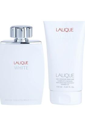 Lalique White Edt 100 Ml Erkek Parfüm Set