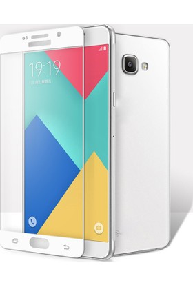 Serhan Samsung Galaxy A520 A5 2017 3D Kavisleride Kaplayan Renkli Temper Cam