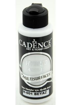 Cadence Beyaz Multisurface Hibrit Boya Cadence 120Ml