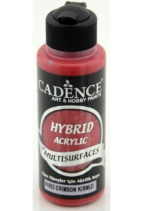 Cadence Crimson Kırmızı Multisurface Hibrit Boya Cadence 120Ml