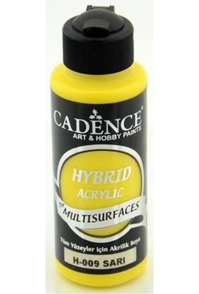 Cadence Sarı Multisurface Hibrit Boya Cadence 120Ml