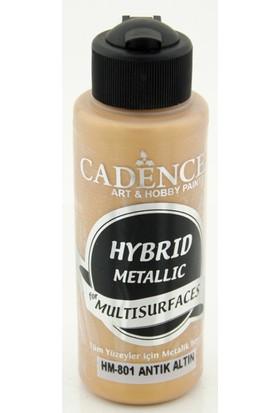 Cadence Antik Altın Metalik Multisurface Hibrit Boya Cadence 120Ml