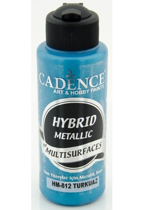 Cadence Turkuaz Metalik Multisurface Hibrit Boya Cadence 120Ml