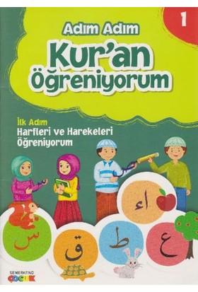 Adım Adım Kur'an Öğreniyorum 4 Kitap 1 Dvd