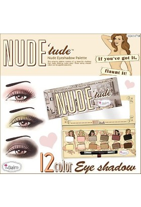 The Balm Nude Tude Göz Far Seti 11.08 GR