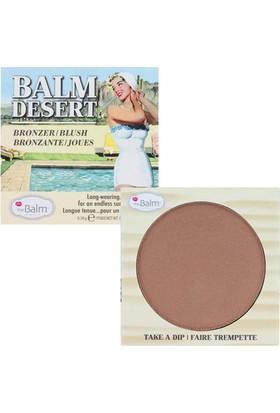 The Balm Balm Desert Bronzer /Blush Bronz Allık 6.39 GR