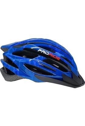 Proride Bisiklet Kaskı Mavi