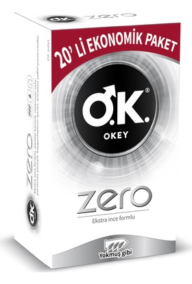 Okey Zero 20'li Ekonomik Paket