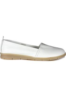 Dr. Pepper Günlük Konfor Bayan Ayakkabı Beyaz