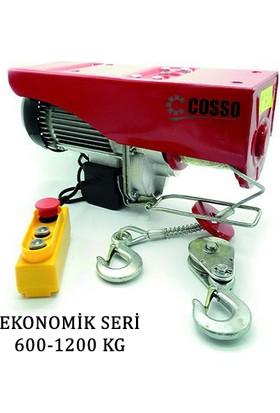 Cosso 600/1200 Ekonomik Seri Elektrikli Vinç