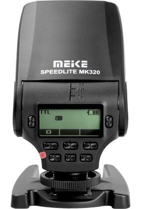 Meike Nikon İçin Meike Mk320N ITtl Hss Speedlite Flaş
