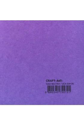 Craft and Arts 35x50 cm 160 gr. Mor Fon Kartonu (Kağıdı) UCA-208-35 Ha