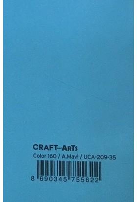 Craft and Arts 35x50 cm 160 gr. Açık Mavi Fon Kartonu (Kağıdı) UCA-209