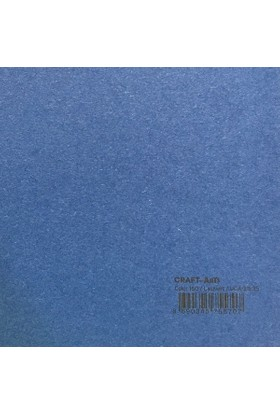Craft and Arts 35x50 cm 160 gr. Lacivert Fon Kartonu (Kağıdı) UCA-211-