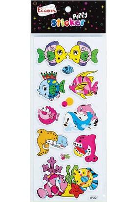 Ticon Tps-26 Puffy Sticker
