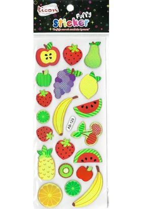 Ticon Tps-43 Puffy Sticker
