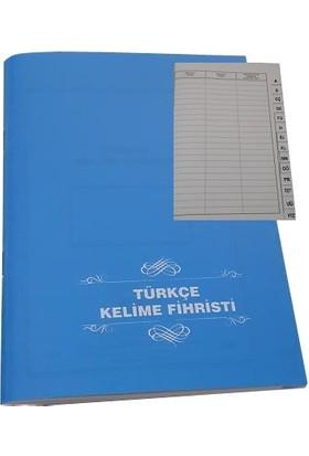 Gürpaş Türkçe Kelime Defteri