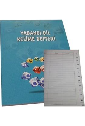 Gürpaş Yabancı Dil Kelime Defteri Karton Kapak