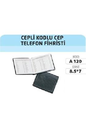 Gürpaş Cepli Kodlu Cep Telefon Fihristi 7x8,5 cm