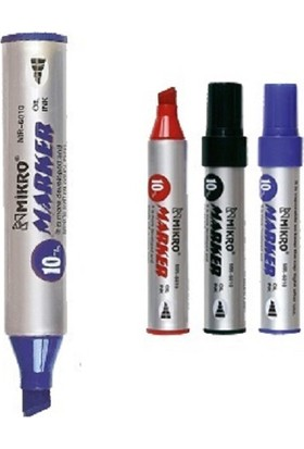 Mikro Kalıcı Yazı Kalemi Permanent Marker Siyah