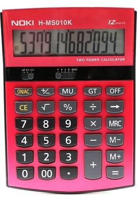 Noki Hesap Makinesi Kırmızı H-MS010