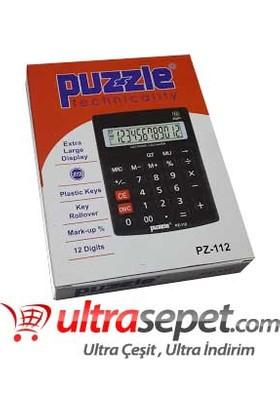 Puzzle Hesap Makinesi PZ-112