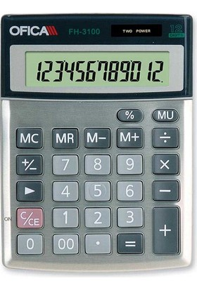 Ofica Hesap Makinesi Masa Tipi 12 Hane FH-3100