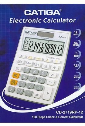 Catiga Masaüstü Hesap Makinesi CD-2719RP-12