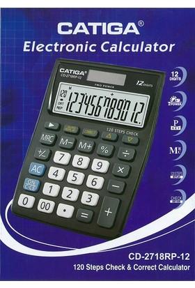 Catiga Masaüstü Hesap Makinesi CD-2718RP-12
