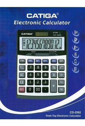 Catiga Masaüstü Hesap Makinesi CD-2592