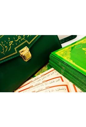 Ayfa Kur'an-ı Kerim 30 Cüz Rahle Boy Bilgisayar Hatlı Çantalı (Kuran)