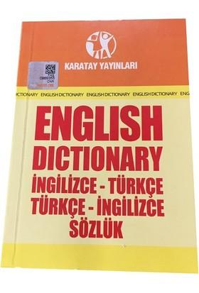 Karatay İngilizce Türkçe Türkçe İngilizce Karton Kapak Sözlük