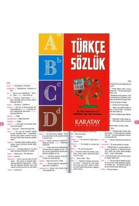 Karatay Türkçe Sözlük Karton Kapak