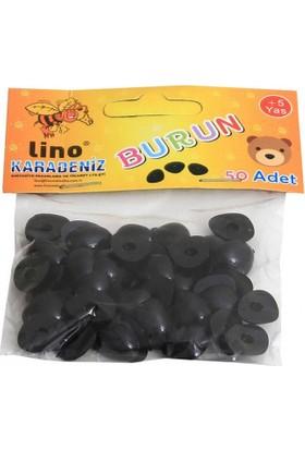 Lino Plastik Burun 10x15 mm 50 Adet