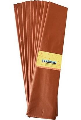 Lino Lüks Krapon Kağıdı Kahverengi 50 cm x 2 metre